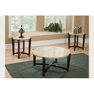 Affordable Cadarrah 3 Piece Coffee Table Set ByWinston Porter