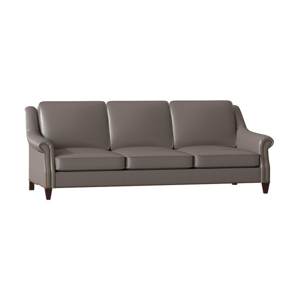 Reinsman Leather Sofa by Bradington-Young