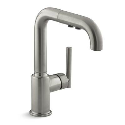 Kitchen Faucet Single Handle Pullout Stainless photo