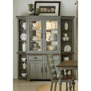 Serpentaire Lighted China Cabinet