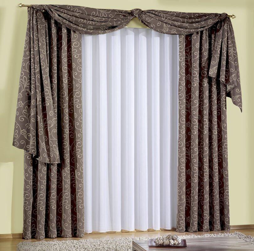 wirth vorhang mecklar mit kr uselband blickdicht bewertungen. Black Bedroom Furniture Sets. Home Design Ideas