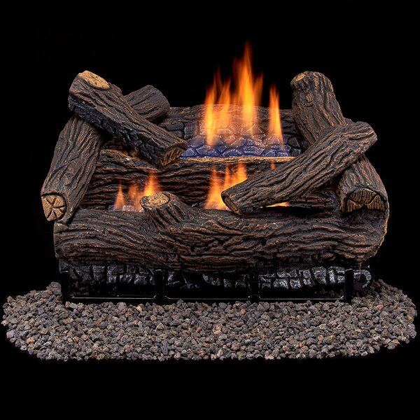 Vent Free Natural Gas/Propane Logs By Duluth Forge