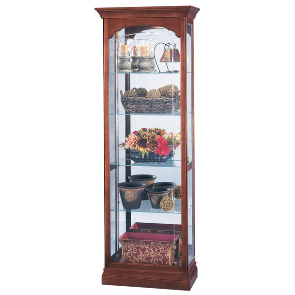 Brickey Curio Cabinet by Darby Home Co