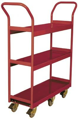 Narrow Aisle Utility Cart by Wesco Industrial Products
