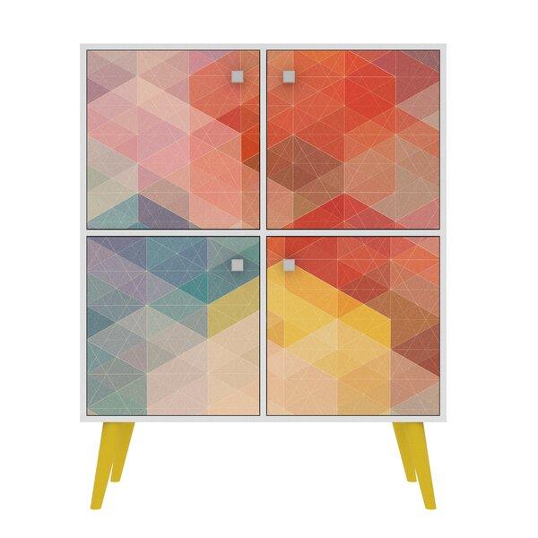 Paola High Double 4 Door Accent Cabinet Corrigan Studio W001958053