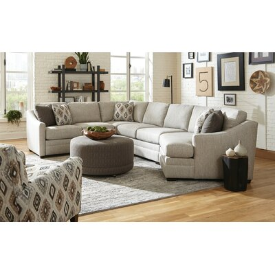 "Kaydence 206"" Right Hand Facing Sectional Craftmaster"