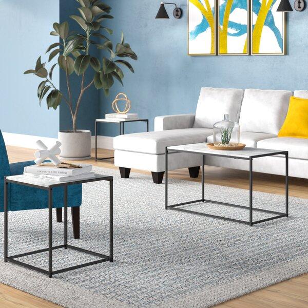 Discount Andresen 3 Piece Coffee Table Set