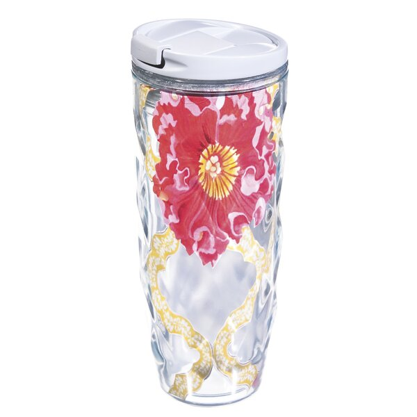 Dolores Botanical Garden 16 Oz. Insulated Tumbler by Latitude Run