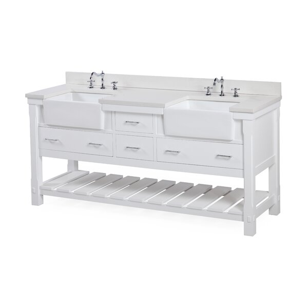 Charlotte 72 Double Bathroom Vanity Set by Kitchen Bath Collection