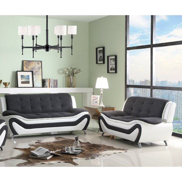 Lunas 2 Piece Living Room Set By Orren Ellis