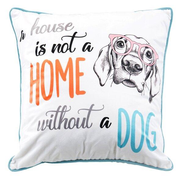 Home Metallic Throw Pillow by Nicole Miller