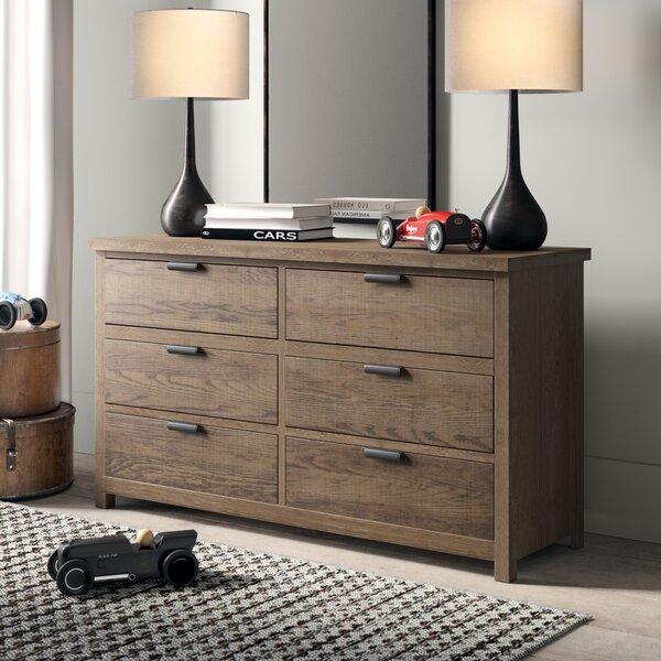 Strasburg 6 Drawer Double Dresser by Greyleigh