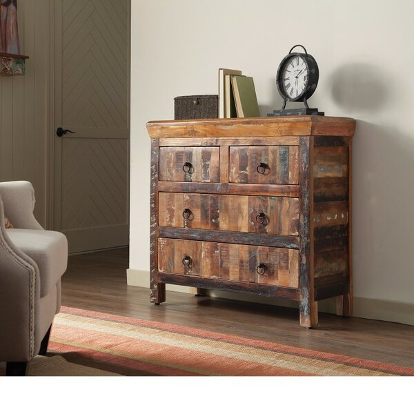 Wenner Traditional 4 Drawer Accent Chest by Millwood Pines