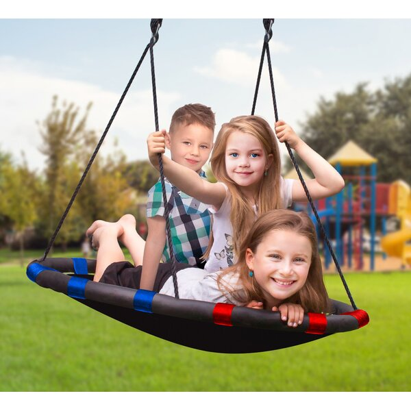 Spinner Swing Kids Indoor/Outdoor Mat Swing by Sorbus