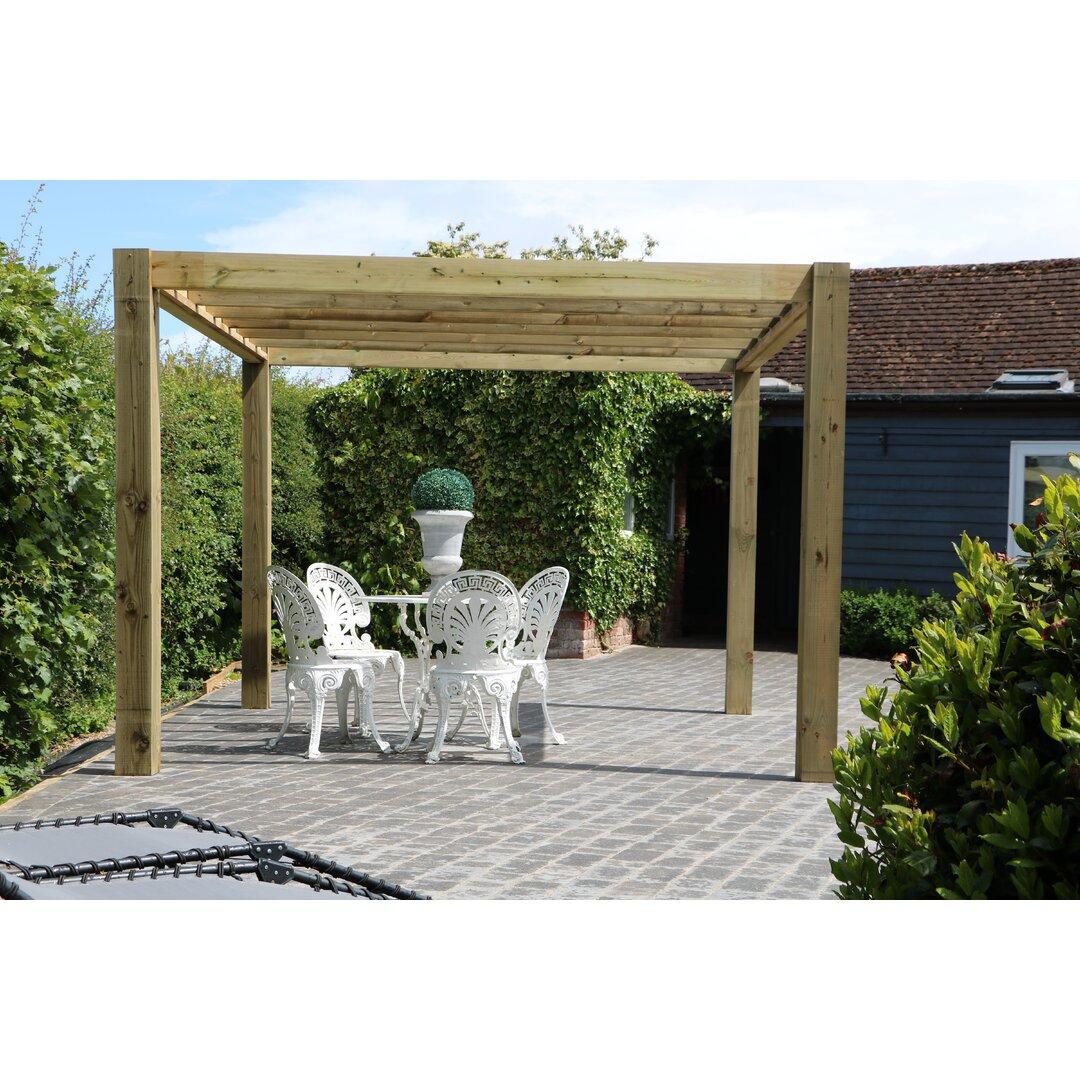 The Cube Garden Solid Wood Pergola