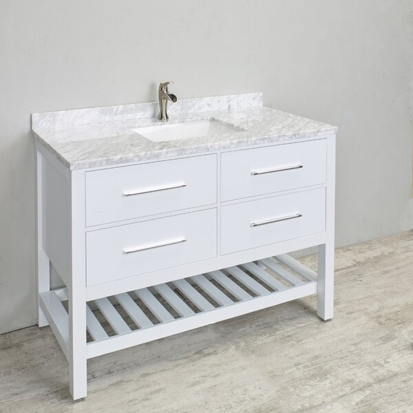 Keighley 48 Single Bathroom Vanity Set by Highland Dunes