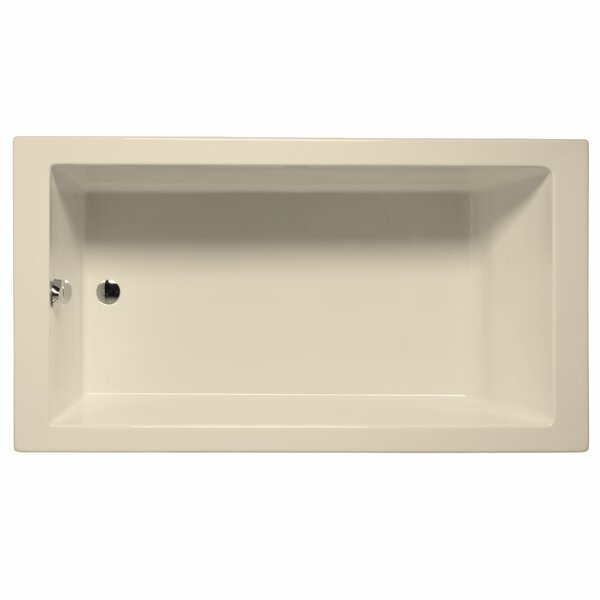 Venice 66 x 36 Whirlpool and Air Jet Bathtub by Malibu Home Inc.