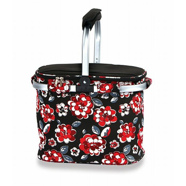Shelby Collapsible Thermal Foil Insulated Market Tote Picnic Cooler by Picnic Plus