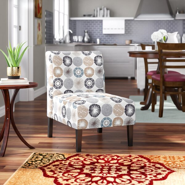 Reviews Peabody Slipper Chair by Winston Porter
