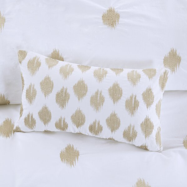 Bergin Cotton Lumbar Pillow by Langley Street