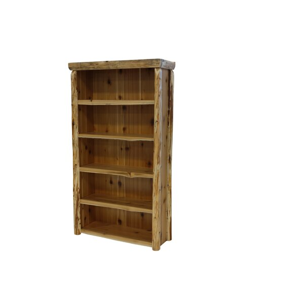 Traditional Cedar Log Standard Bookcase by Fireside Lodge