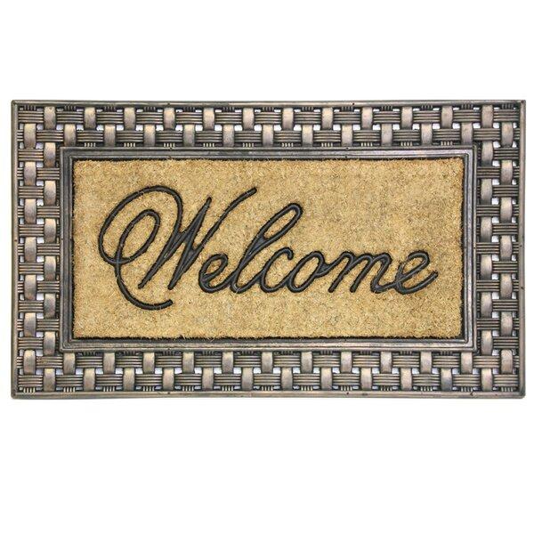 Gerrin Welcome Doormat by Alcott Hill