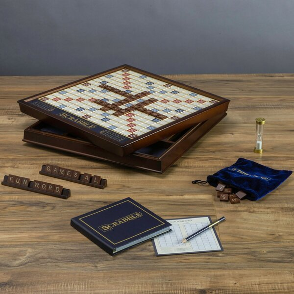 Scrabble Deluxe Edition by WS Game CompanyScrabble Deluxe Edition by WS Game Company
