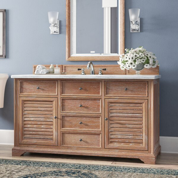 Osmond 60 Single Driftwood Bathroom Vanity Set by Greyleigh
