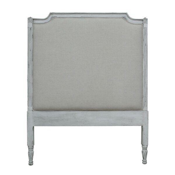 Le Reve Twin Upholstered Panel Headboard by One Allium Way
