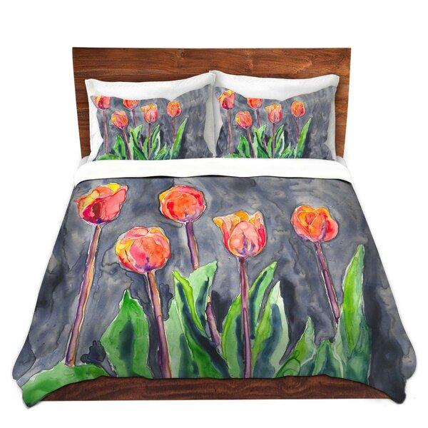 Matranga Brazen Design Studio Tulips Microfiber Duvet Covers