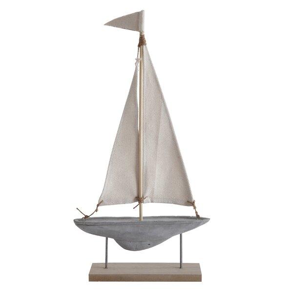 Dieter Cement Model Boat by Breakwater Bay