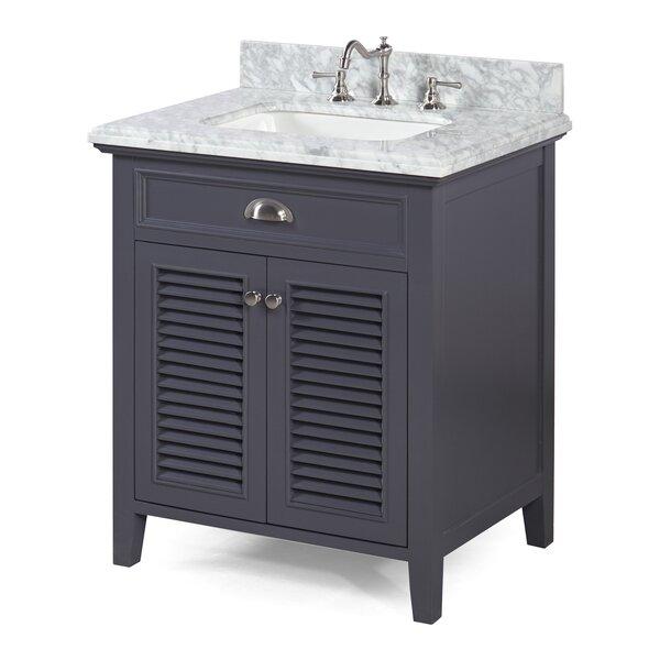 Savannah 30 Single Bathroom Vanity Set by Kitchen Bath Collection