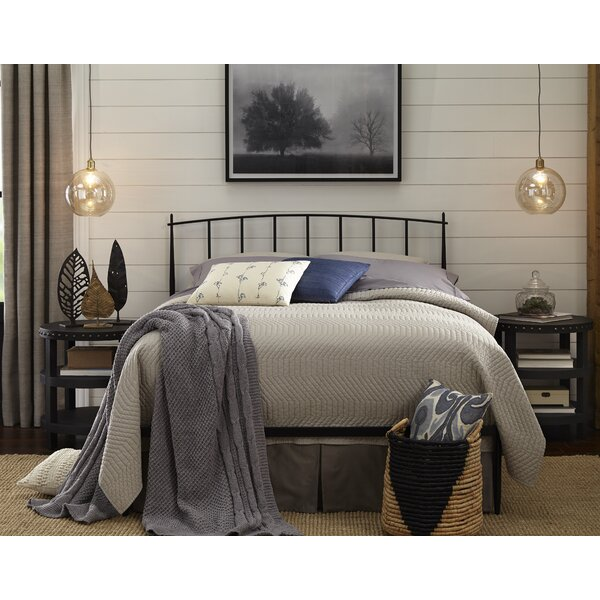 Harly Metal Queen Standard Bed by Foundstone