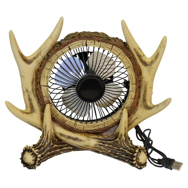 Antler USB Table Fan by De Leon Collections