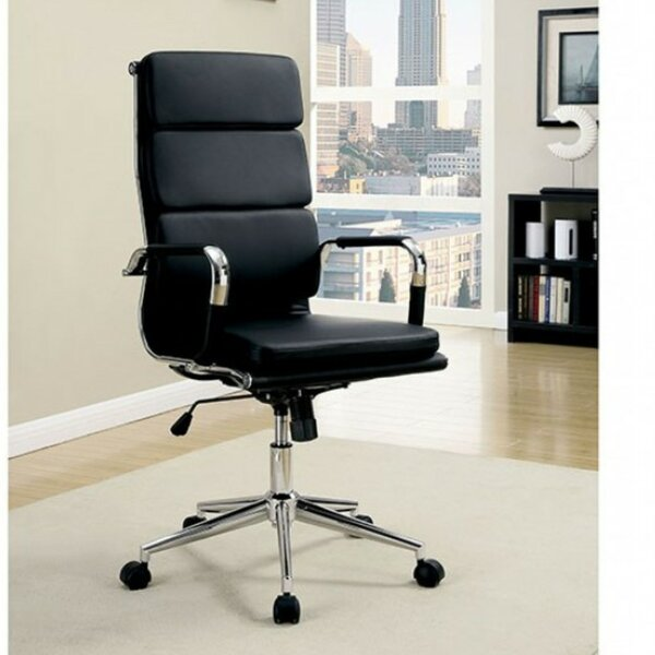 Tamara Leatherette Office Chair by Darby Home Co