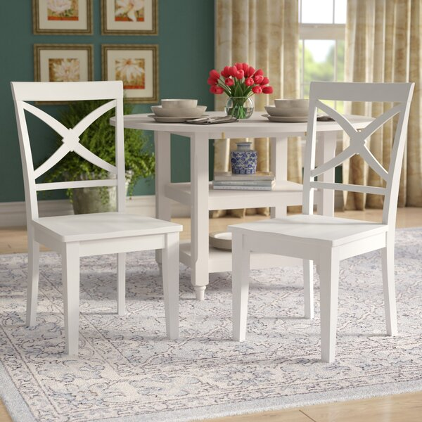 Pomerleau Solid Wood Dining Chair (Set of 2) by Andover Mills