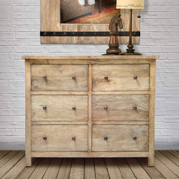 Flavien 6 Drawer Dresser by Loon Peak