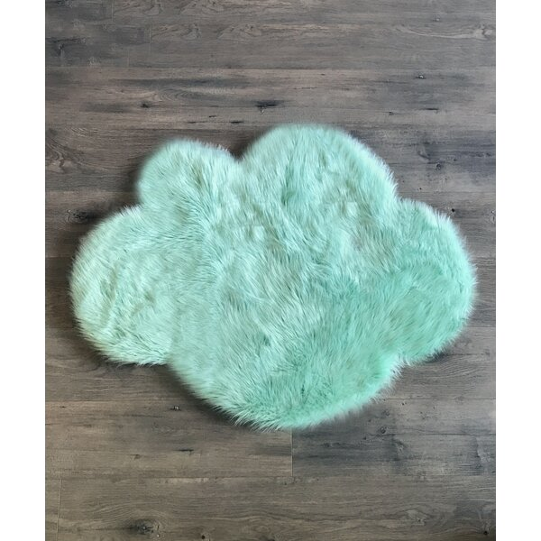 Mint Area Rug by Kroma Carpets