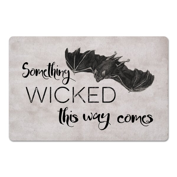 Madelena Wicked Bat Kitchen Mat