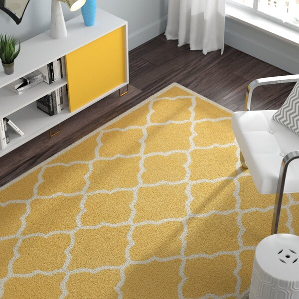 Charlenne Gold / Ivory Area Rug by Zipcode Design