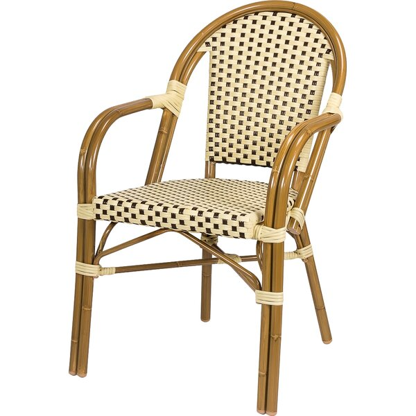 Dolly Stacking Patio Dining Chair By August Grove