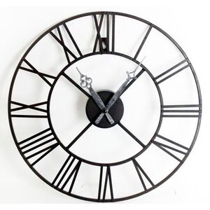 Roman Numeral 40cm Metal Wall Clock
