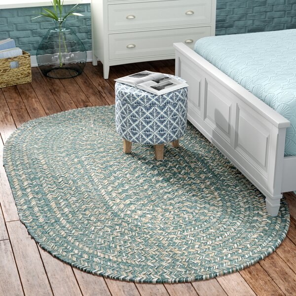 Maleah Teal Area Rug by Beachcrest Home