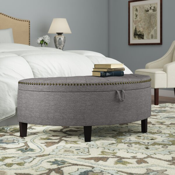 Beaudry Upholstered Storage Bench by Charlton Home