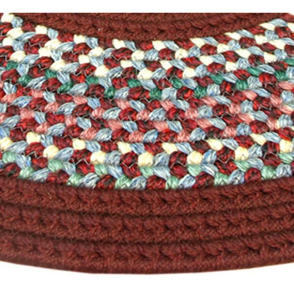 Pioneer Valley II Indian Summer with Burgundy Solids Runner Rug by Thorndike Mills