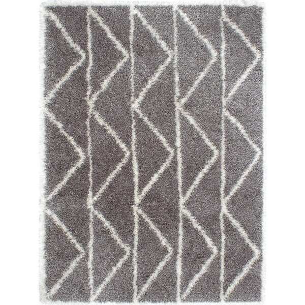 Chesterhill Dark Gray Area Rug by Foundry Select