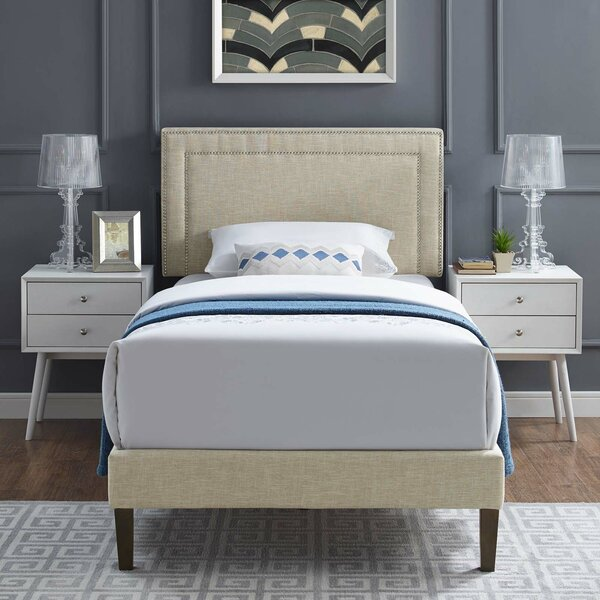 Tarver Upholstered Platform Bed by Mercer41