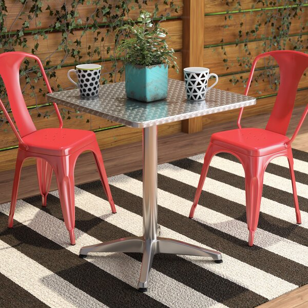Lula Square Bistro Table by Zipcode Design