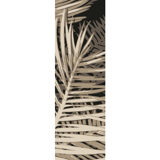 Fort Hand-Tufted Charcoal/Ivory Indoor/Outdoor Area Rug by Bay Isle Home