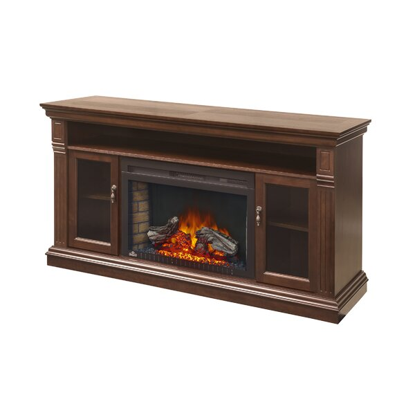 Canterbury 64 TV Stand with Electric Fireplace by Napoleon
